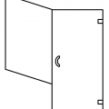 Half Return Panel Door Switched